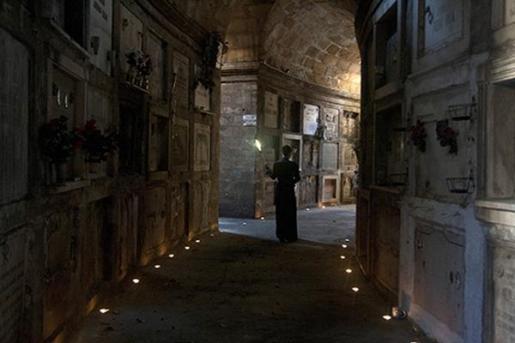 visitas guiadas de Carlos Garrido en el cementerio de palma