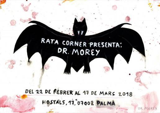 Dr. Morey expone sus obras en Rata Corner