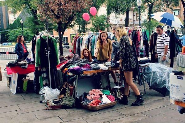 mercadillo mercat vintage Santa Catalina Palma segona mà segunda mano