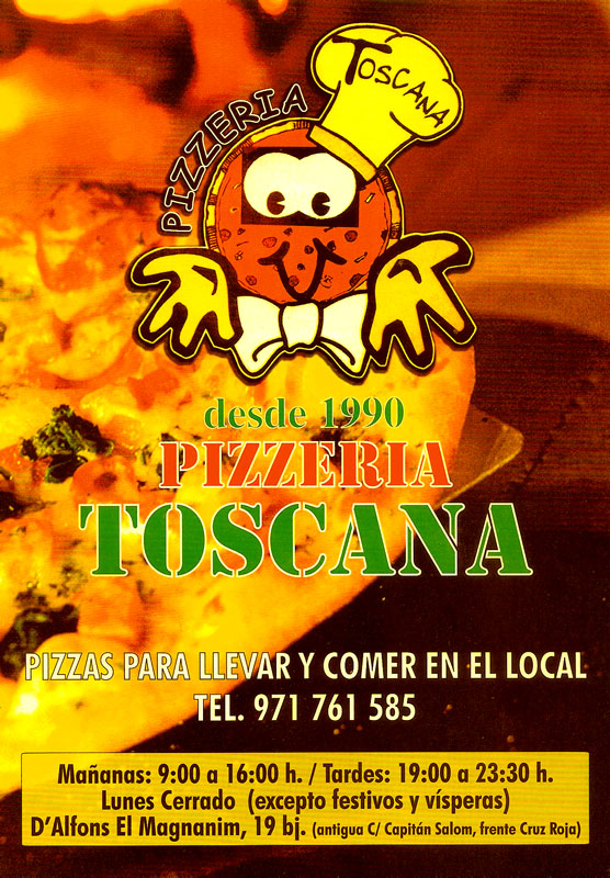 Pizzería Toscana