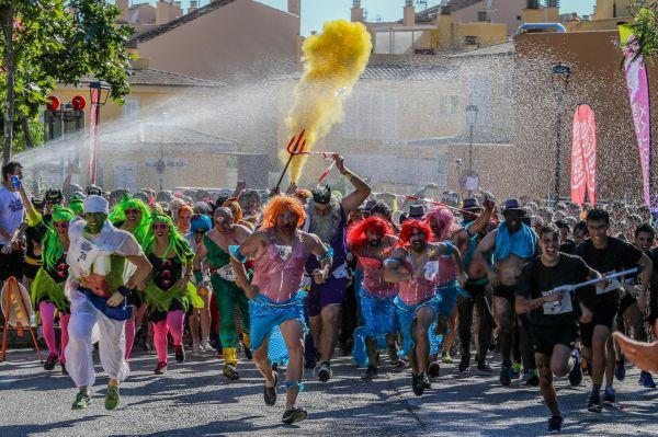 carrera cursa Mallorca obstacles obstaculos disfraz estiu verano